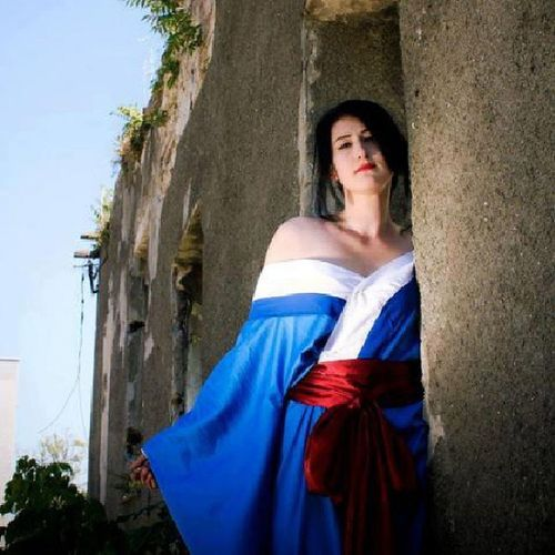 Honeonna Hellgirl Cosplay Kimono
