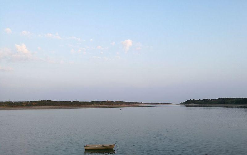Dundrum Ireland Eire Water Sea Bay Stillwater Still Sun Countydown