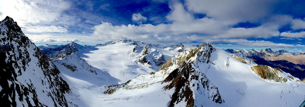 Glacier Tyrol Austria Austria Blue Cold Dramatic Sky Glacier High Altitude Mountain View Mountains Mountains And Sky Pitztaler Gletscher Skiing Snow Snow ❄ Tyrol