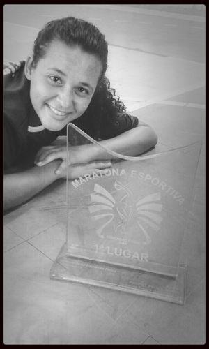 Nosso trofeu lindo *.* MaratonaEsportiva EdfUfal First Eyeem Photo