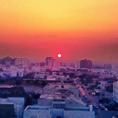 Sahloul Beach Sousse Tunisia sunrise 2007