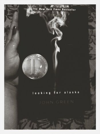 Currently Reading Looking For Alaska