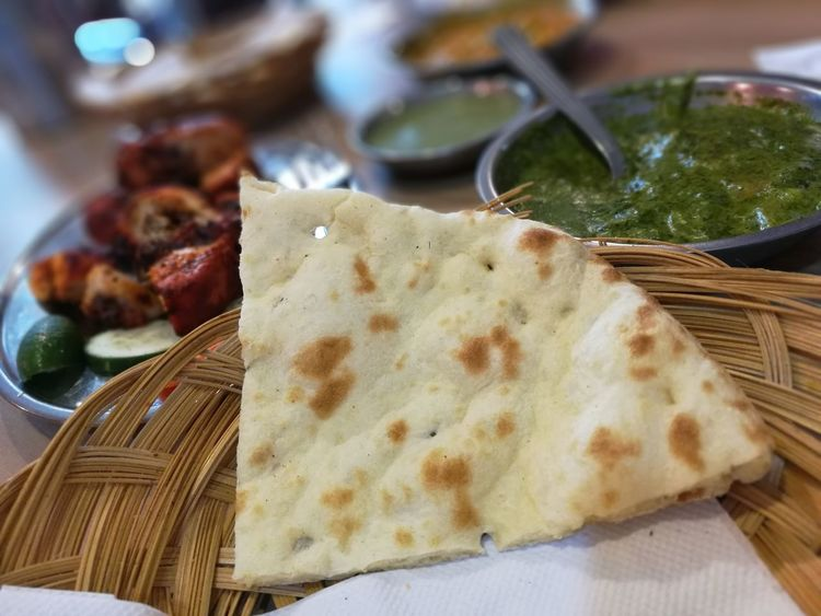 Food glorious food...... Food And DrinkFood Ready-to-eat Indian Culture  Northern Indian Food Naanbread No People Day