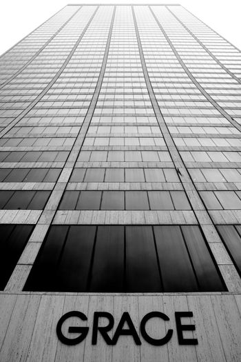 Grace Building in Manhattan Architecture Black And White Building Exterior Endlessness Façade Grace Building  Infinity Looking Up Low Angle View Manhattan Modern Monochrome Photography New York New York City Skyscraper Text Timeless Up Upward View Neighborhood Map The Graphic City Go Higher