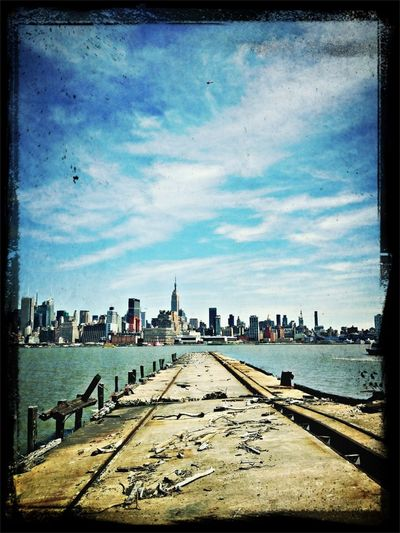 Nyc's View From Hoboken