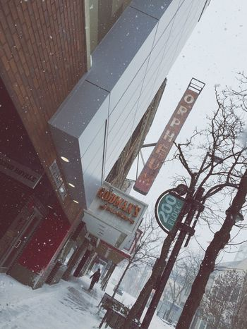 State Street Madison WI on a snowy afternoon. Madisonwisconsin First Eyeem Photo