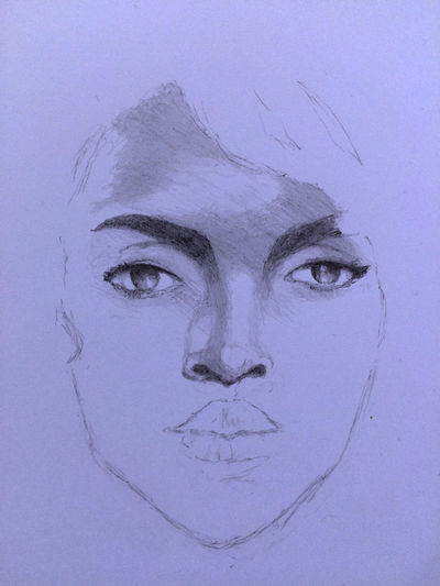 Lauryn Hill ArtWork Drawing MyDrawing Art, Drawing, Creativity Art ローリンヒル LaurynHill
