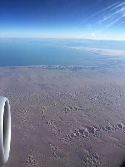 Flying from San Salvador to LA - in the Sky ! Flight Avianca OnmywaytoCalifornia Sky