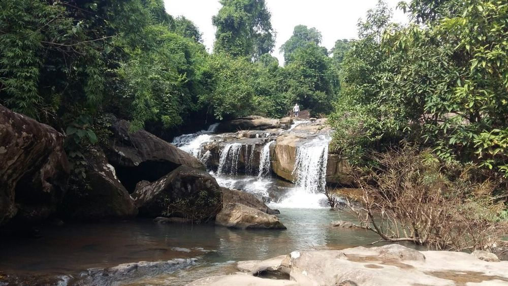 Waterfall Tree Forest Beauty In Nature Phou Khao Khouay Laos Nature John Nelson Vientiane No Filter, No Edit, Just Photography Lifeasiseeit Outdoors Nature Leisure Activity Mountain Travel Destinations Beauty In Nature