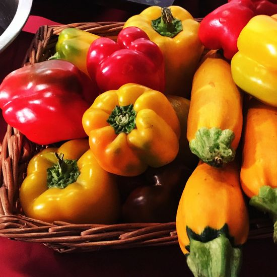 Colour Of Life Peppers Pepper No People Vegetables Yellow Red Vegetarian Vegetarian Food Raw Food