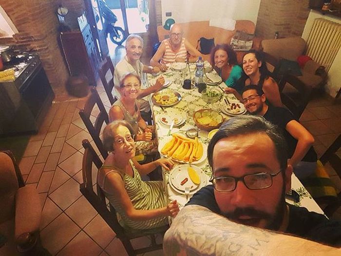Memories the 15th of August Ferragostoitaliano Ferragosto2015 Pranzoitaliano Pranzoinfamiglia Lunchwithfamily Family Agosto2015 Memories Estate2015 Summer2015 Selfiefamily 😀😀 Summertime Thisispuglia