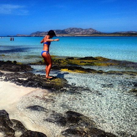Nel blu dipinto di blu. Stintino Sardinia Lapelosa May Sea Questagiunglamidistrugge