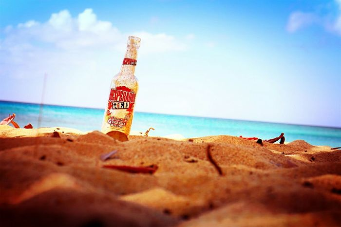 Guadeloupe Beer Life Is A BeachReflection Port-louis Open Edit
