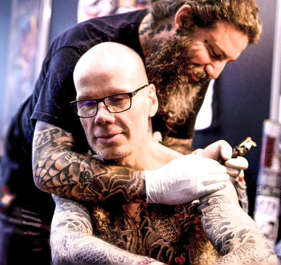 Man Mondialdutatouage Ink Inked Tattooartist  Tattoo Tattoomachine Artworks Inkdrawing Art Artist Colors