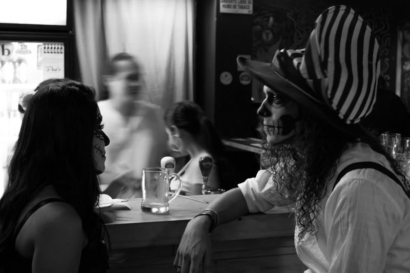 Halloween Night Out EyeEm Best Shots - Black + White