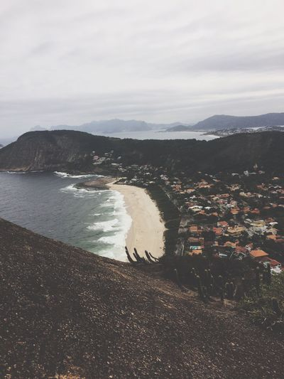 Itacoatiara Rio de Janeiro Mountain Water Sea Beach