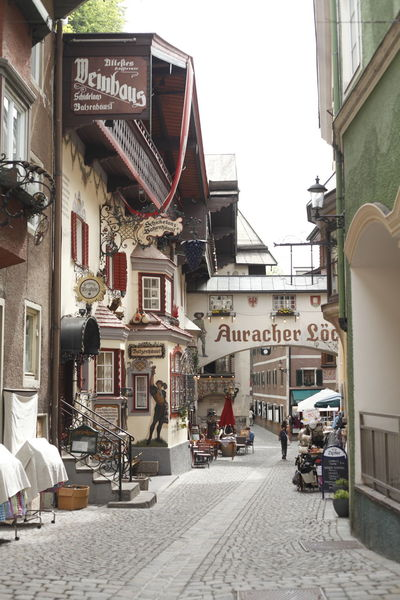 Römerhofgasse, Old Town, House, Kufstein, Tirol, Austria Architecture Australia Building Exterior Built Structure City Day Haunted House Houses Kufstein No People Old Outdoors Römerhofgasse Sky Town Travel Destinations