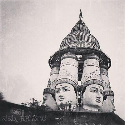 NammaRRnagara Rajarajeshwarinagar NamArea Nammabengaluru Cellphonephotography LGG2 Snapseed Picsart Temple India Bengaluru Culture Indiantemple Murugan Statue