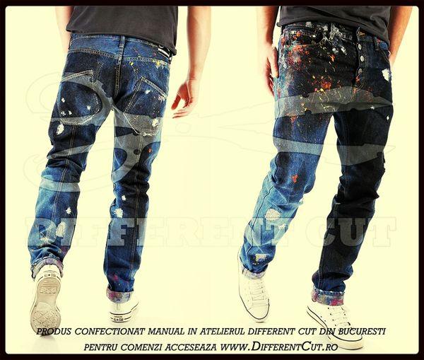 Imbracaminte handmade pentru barbati Jeans Blugi First Eyeem Photo