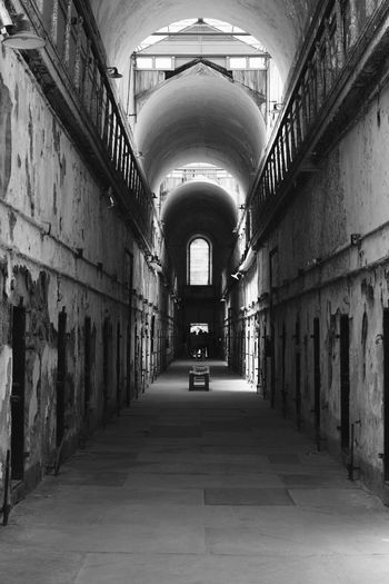 Penitentiary Eastern State Penitentiary Philadelphia Solitary Solitude Hard Time Black And White Blackandwhite Photography Decay Abandoned Buildings