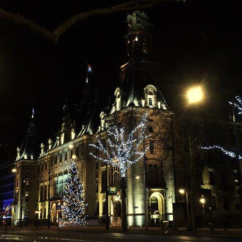 Cityhall Rotterdam Architecture EyeEmBestPics Christmas Decorations #IPSXmas