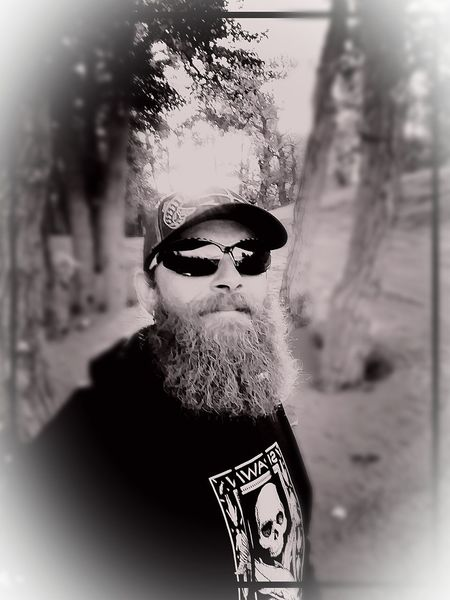 just me Keep It Blurry Blackandwhite JustMe Naturelover Be Real Always Looking Up Never Give Up Life Broken Be Humble Alaska Knik River Glacier Aklife Wilderness Alone Destinationunknown Facial Hair Mustache