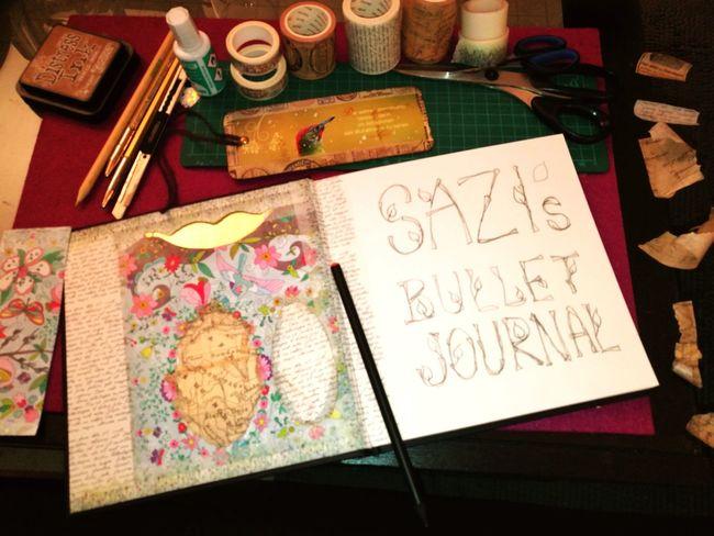 new start of a bullet journal Bulletjournal Scrapbook DIY WashiTape Handlettering