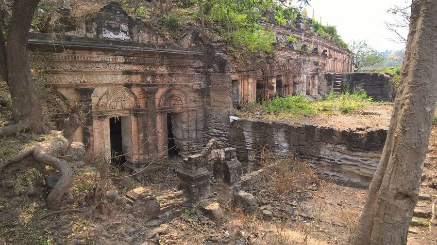 ASIA Asian  Asian Culture Myanmar Travel Photography Abandoned Ancient Ancient Civilization Archaeology Architecture Building Exterior Built Structure Daylight Deterioration History Myanmar No People Old Old Ruin Outdoors Ruined Run-down The Past Tourism Travel Destinations