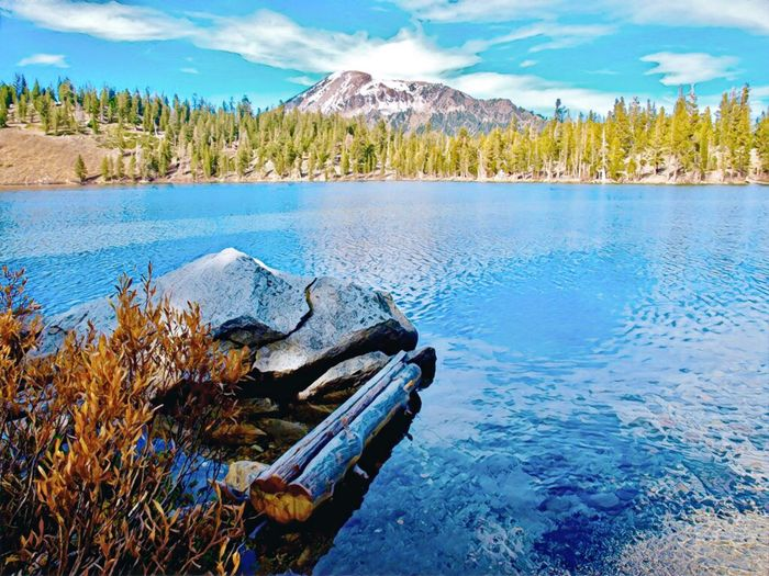 Mammoth Mountain Eastern Sierras Mammoth Lakes, CA Lake George Beauty In Nature Water Tranquil Scene Tranquility Beauty In Nature Scenics - Nature Tree Nature Mountain