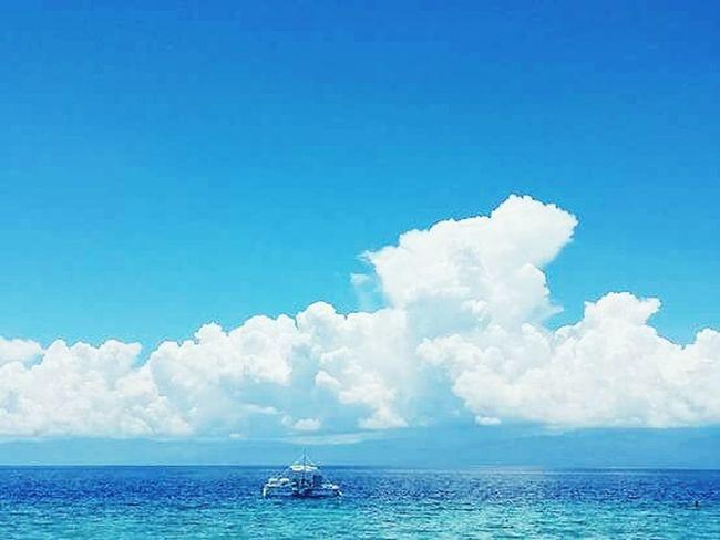 When the sky meets the ocean