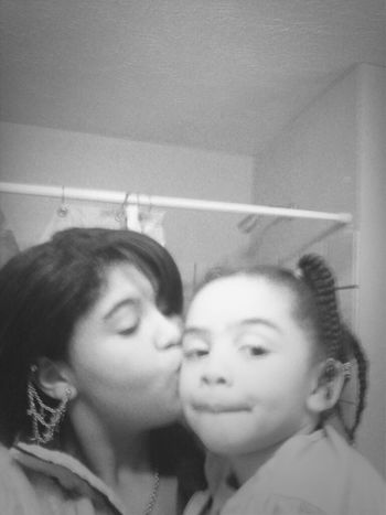 me and my world I love my baby sister so much thank u god for blessing me wit her