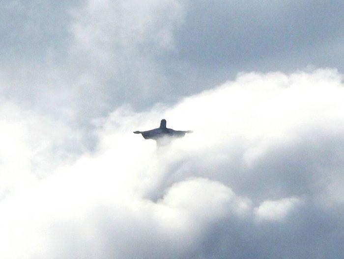 Brasil Numb Cloud - Sky Sky Cristo Redentor-Río De Janeiro EyeEmNewHere The Week On EyeEm