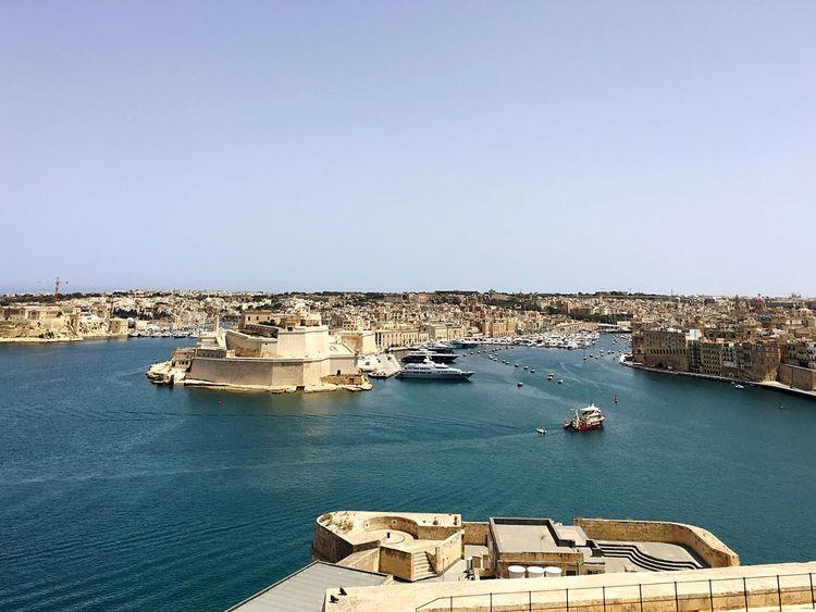 Malta♥ Malta Valetta,Malta Valetta   Malta Valetta Sea Mediterranean  Mediterranean Sea Mittelmeer Architecture Historical Building Historisch Historisches Gebäude Sonne