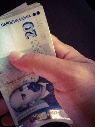 Money Bulgarian Money Hand Money Lev Deal Corruption