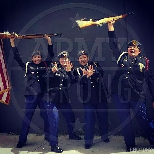 Army color guard!!!! ArmyStrong Foreverandever