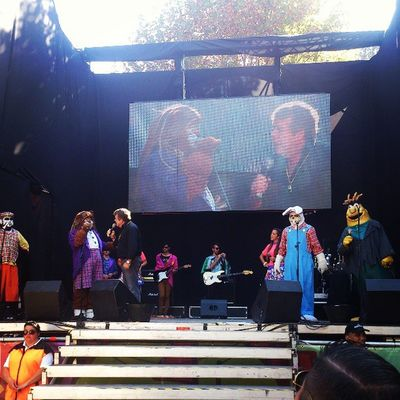 Cachureos en Lollapaloozacl con @sylgabriela