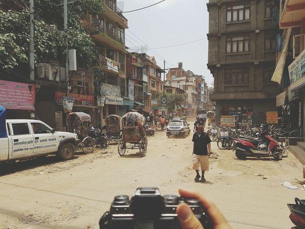 Kathmandu Nepal Nepal #travel Dusty Road FUJIFILM X-T1 Hot Day Backpacking