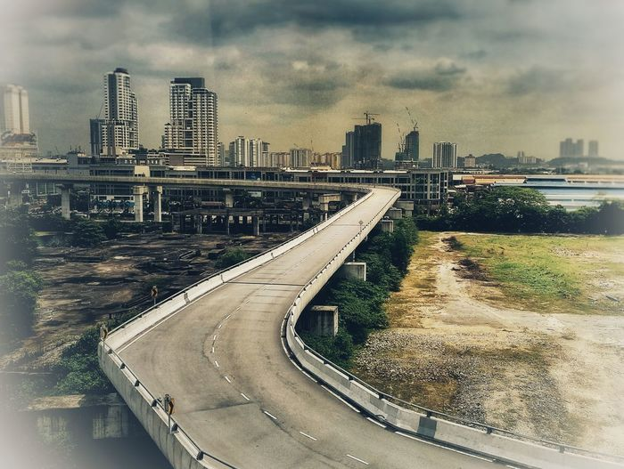 highway Urban Skyline City Skyscraper Architecture Cityscape Building Exterior Cloud - Sky Outdoors Built Structure Water Day Sky No People Modern