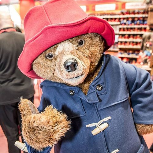 Having some fun at work with Paddington today Hamleys Hamleysregentstreet Paddinngton Paddingtonbear Noelwongphotography Work Workplay