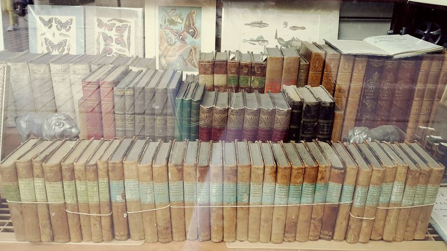Collection Books Bookstore Wisdom Variety Paper Soft Light Old Vintage Window Window Shopping Scratches Old-fashioned Unique Tome Pages Smell Of The Memories Knowledge