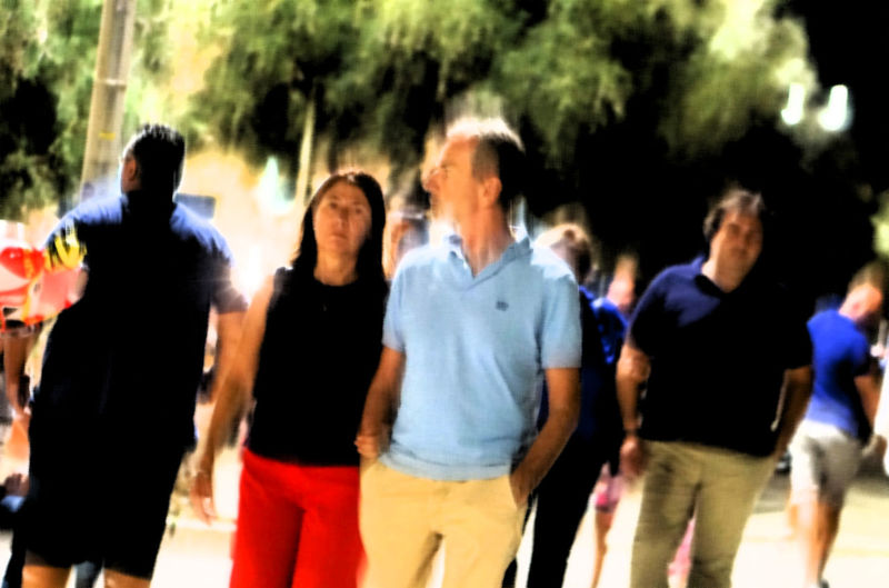 blurred motion Group Of People Lifestyles Real People Casual Clothing Leisure Activity Motion Friendship Crowd Group Walking Blurred Motion