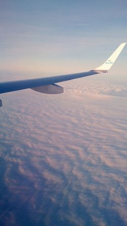 Plane Sky Clouds No People Day Outdoors KLM Sun Sunlight Beautiful Flying Nature
