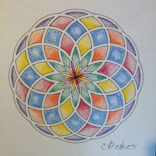Toroid Circles Colors Sacredgeometry love