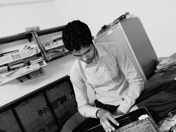 Suresh studying First Eyeem Photo