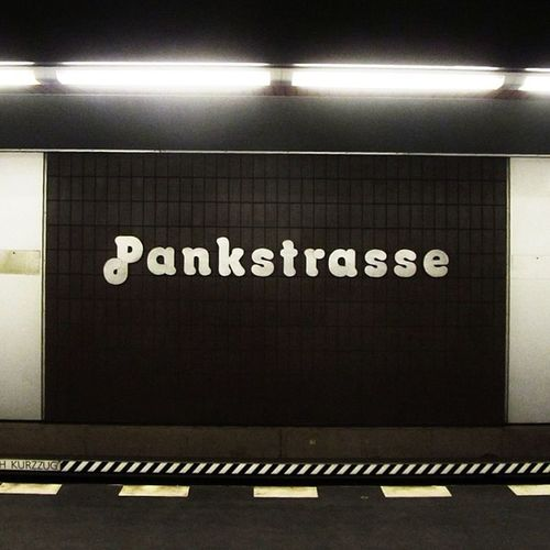 Lovely signage on the Berlin underground stations. Ig Font Abstract Igers Berlin IGDaily Urban Instagramers Underground Lettering Tiles Igscout Minimal Instadaily Germany Instatalent Tube Instagain Wall Igaddict Lines Instapic LINE Insta_germany Pattern Instaphoto All_shots Typeface  Instamood Pankstrasse