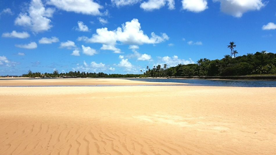 kabru beach. Travel Destinations Sky No People Sea Beauty In Nature Bahia/brazil Vacations Day Maraú Clear Sky Sunset