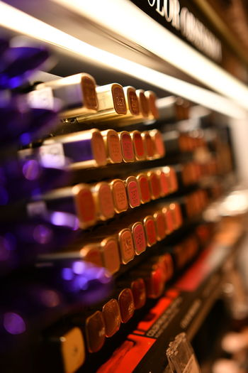 Colors Colourful Colours Cosmetic Products Lipstick Shopping Arrangement Cash Register Close-up Colorful Communication Cosmetic Cosmetics Day In A Row Indoors  Kosmetik Large Group Of Objects Lippenstift No People Shelf Shop Shopping Mall Shopping Time Typewriter