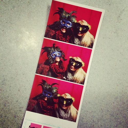 Look what I found! Bridalshow Funnyphotobooth