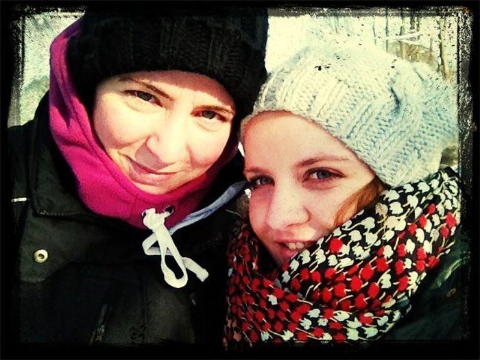 Melli und ich ❤