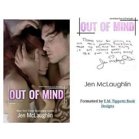 FINALLY Outofmind Jenmclaughilin Book ❤❤?